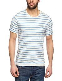 Selected Homme Acton Split Short Sleeve O-Neck C Men's T-Shirt