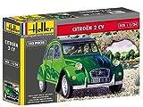 Heller - 80765 - Maqueta para construir- Citroen 2 Cv  - 1/24ème