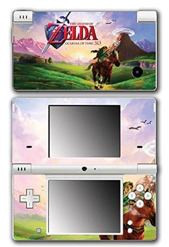 Legend of Zelda Link Ocarina 3D of Time Epona Navi Video Game Vinyl Decal Skin Sticker Cover for Nintendo DSi System by Vinyl Skin Designs (Dsi-skin Vinyl)