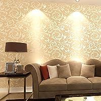 Luxus Europäischen Stil Stereo Gold Goldfolie Tapete An Der Wand Des  Wohnzimmers TV Hintergrund
