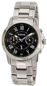 Fossil Grant Chronograph Black Dial Men's Watch - FS4736