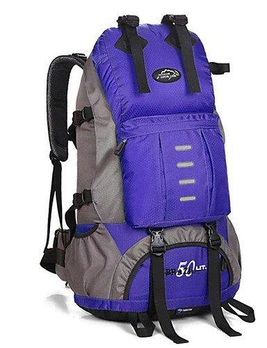 GXS Professional Outdoor Sport Reiten Camping wasserabweisend Multifunktions Schultern Bergsteigen Taschen Abfalltonne - light red