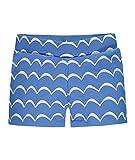 Steiff Jungen Badehose Schwimmshorts, Blau (Marina 3056), 104