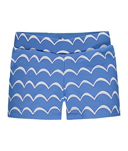Steiff Baby-Jungen Badehose Schwimmshorts, Blau (Marina 3056), 86