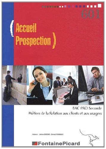Accueil Prospection 2e Bac Pro MRCU