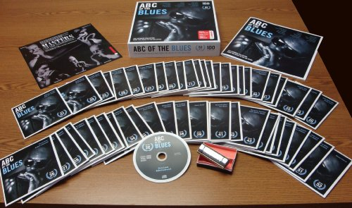 ABC of the Blues (52 CDs + Hohner harmonica)