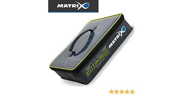 Fox Matrix Ethos Pro EVA box tray set 35x32x9cm Köderbox mit 4 Köderschüsseln