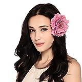 Maitose trade; Frauen Bridal Hair Pins Clip Flower Pin Hat Zubehör Rosa