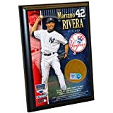 Steiner Sports MLB New York Yankees Mariano Rivera 4-by-6-inch Schmutz Plaque