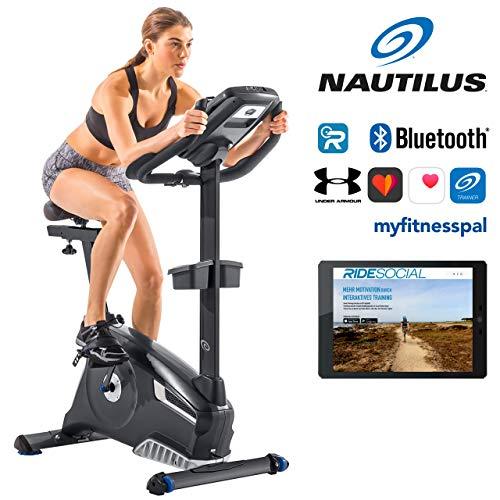 Nautilus Ergometer U628 - 25 Widerstandsstufen - Schwungmasse: 13.5 kg - Nautilus Connect - Soundsystem und integrierter Ventilator - RideSocial kompatibel -