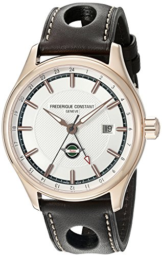 Frederique Constant Men's FC-350HVG5B4 Analog Display Swiss Automatic Brown Watch