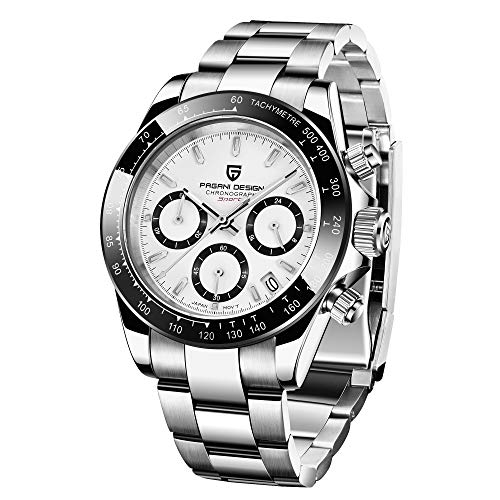 Orologi da uomo di Pagani Design cronografo al quarzo analogico...