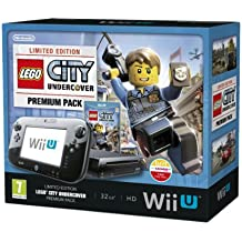 Nintendo Wii U 32GB LEGO City: Undercover Premium Pack - Black (Nintendo Wii U)