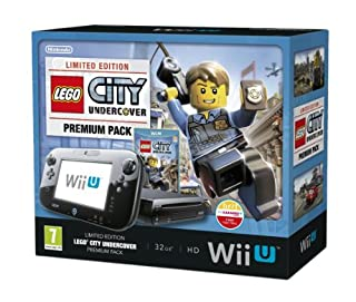Nintendo Wii U 32GB LEGO City: Undercover Premium Pack - Black (Nintendo Wii U) (B00EZMPY1Y) | Amazon price tracker / tracking, Amazon price history charts, Amazon price watches, Amazon price drop alerts