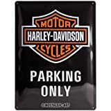 Nostalgic-Art 23130 Harley-Davidson - Parking Only, Blechschild 30x40 cm