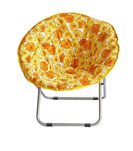 RMXMY Mode persönlichkeit Haushalt Stuhl Kissen, versinken in unsere komfortable, Dicke und übergroße, Reine 100% Baumwolle Ente Stoff, passt Standard runden Stuhl (Color : B) (Teen Gaming Stühle Für)