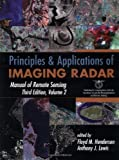 Manual of Remote Sensing: Principles and Applications of Imaging Radar (Manual of Remote Sensing – Third Edition) Amazon