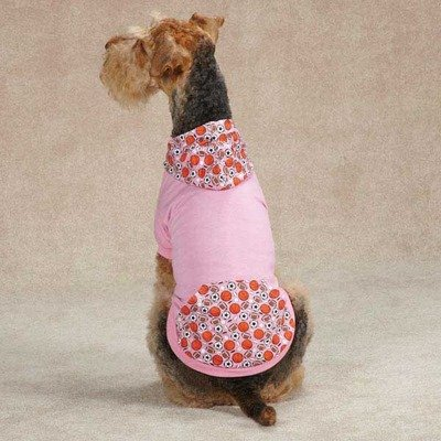 Casual Canine Sport Hound Pullover - Pink, s, Rose -