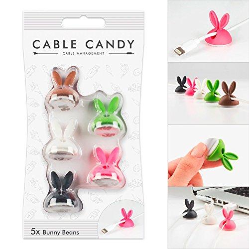 Kabelhalter und Kabelführung - Cable Candy - Bunny Beans