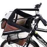 Willsky Tragbare Haustier Hund Fahrrad Sitz Tasche Für Kleine Welpen Tragekorb Tier Katze Reisen Fahrrad Zubehör