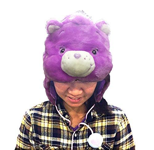 genuine-care-bears-purple-funshine-bear-kigurumi-cap