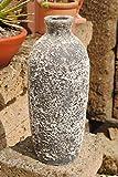Kunert-Keramik Flasche,Amphore,Vase,antik-Optik,39cm hoch,frostfestes Steingut