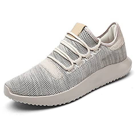 Men's Summer Trainers Lace-ups Sports Casual Breathable Shoes Lightweight Outdoor Athletic Footwear