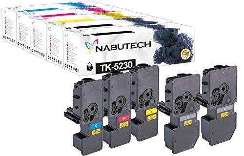 Preisvergleich Produktbild 5 Original Nabutech Toner | Geprüft nach ISO-Norm 19798 | als Ersatz für Kyocera TK-5230 für Kyocera ECOSYS M5521cdn, M5521cdw, P5021cdn, P5021cdw