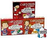 Cartatoto Anglais - Pack 3 jeux - Les mots du quotidien - la nature - les Verbes