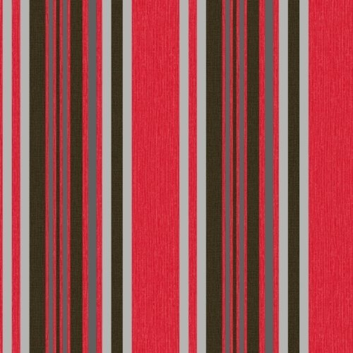 Red Striped Wallpaper: Amazon.co.uk