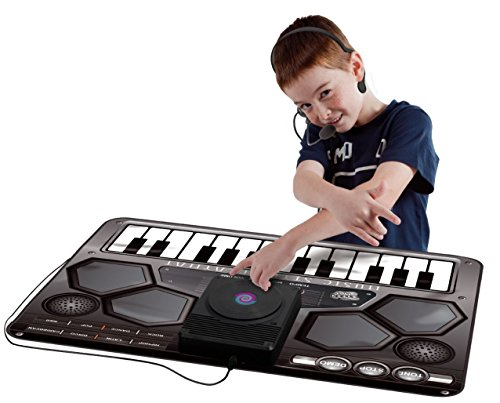 VINSANI Kinder Kids Electronic Musical Musik DJ Style Spielmatte mit Mikrofon