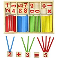 Youkara Youkara 1 Pc Cuente El Número de Juguetes Educativos Para Niños Material Didáctico (Una Caja de Colores Como Se Muestra En La Figura)