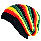 #1: Huntsman Era Men's Beanie Cap - Green and Red