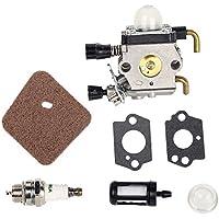 Carburador con juntas de Beehive Filter para recortadoras Stihl FS38 FS45 FS46 FS55 FS74 FS75 FS76 FS80 KM85