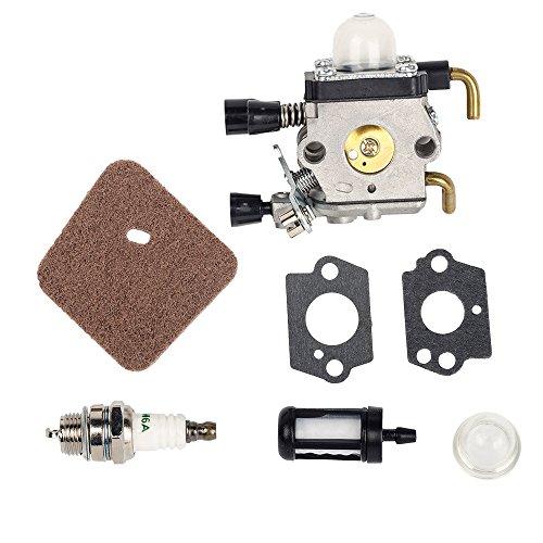Beehive Filter, carburatore con guarnizioni per decespugliatori Stihl FS38,FS45,FS46,FS55,FS74,FS75,FS76,FS80,KM85