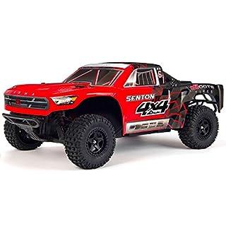 Arrma Senton 4X4 Mega Powerful Short Course Truck Ready To Run - Red/Black