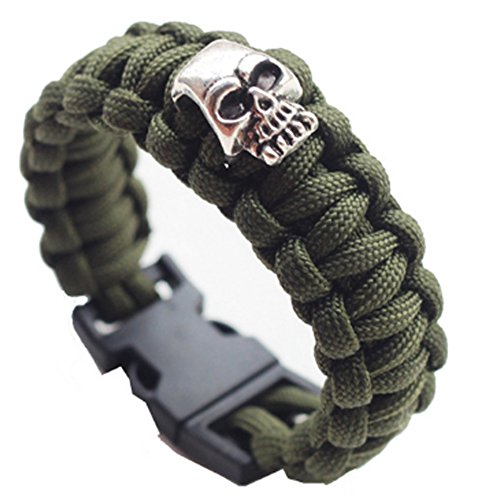 saysure-skulls-paracord-bracelet-rope-survival-kit-travel-camping