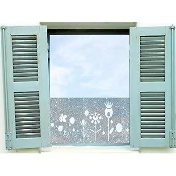 Dekorfolie, Fensterfolie Fenstertattoo selbstklebender