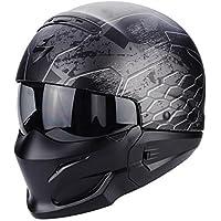 Scorpion Casco Moto exo-combat ratnik, Matt black, s