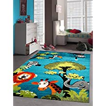 Teppich kinderzimmer grün blau  Suchergebnis auf Amazon.de für: kinder teppich jungen