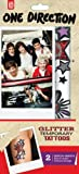 Fizz One Direction Tattoos Glitter 1D-2042