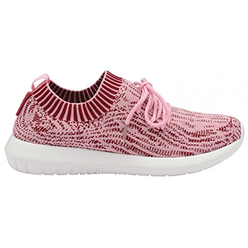 Evolvere Rosa Bianco Sneakers Gola Donne 7dBx4qUU
