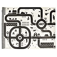 jigang Fashion Simulated Parking Lot View Traffic Map Pad Children Car Game Mat