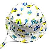 Langzhen Sombrero de Sol Gorro Bebé Gorra Niñas Cap Kids Hat Bucket Toddler con Barbijo de...