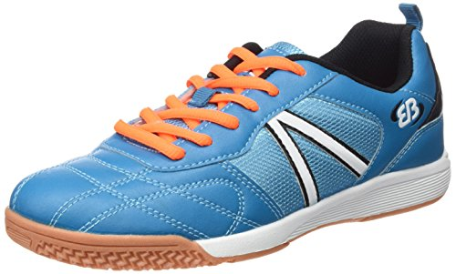 Brütting Super Indoor, Chaussures de Fitness Mixte Adulte Bleu (Blau/schwarz/orange)