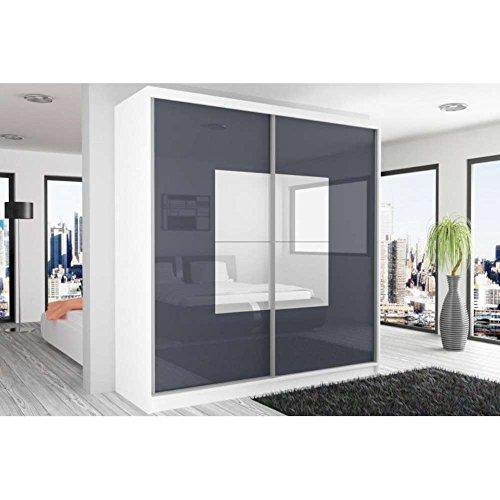 justhome-beauty-3-armoire-218-200-60-couleur-blanc-mat-acier-blanc-laque-haute-brillance