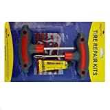 amiciAuto Tubeless Tyre Puncher Repair Kit For Car and Bike (Tyre Repair Kit)