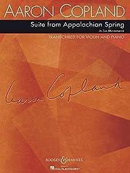 Suite From Appalachian Spring: In Sechs Sätzen. Violine Und Klavier.