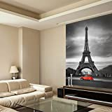 murando - Fototapete 200x270 cm - Vlies Tapete - Moderne Wanddeko - Design Tapete - Wandtapete - Wand Dekoration - Paris STADT - 100204-22