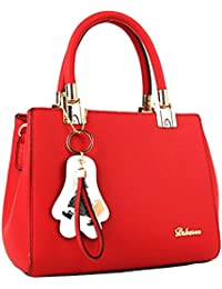 29c52ce333 Oruil Ladies Shoulder Bag PU Leather Crossbody Bag Women Leather Handbags